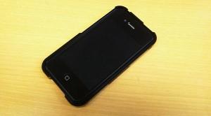 iPhone4S用アルミフレームケース全体