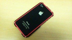 iPhone4S用アルミフレームケース
