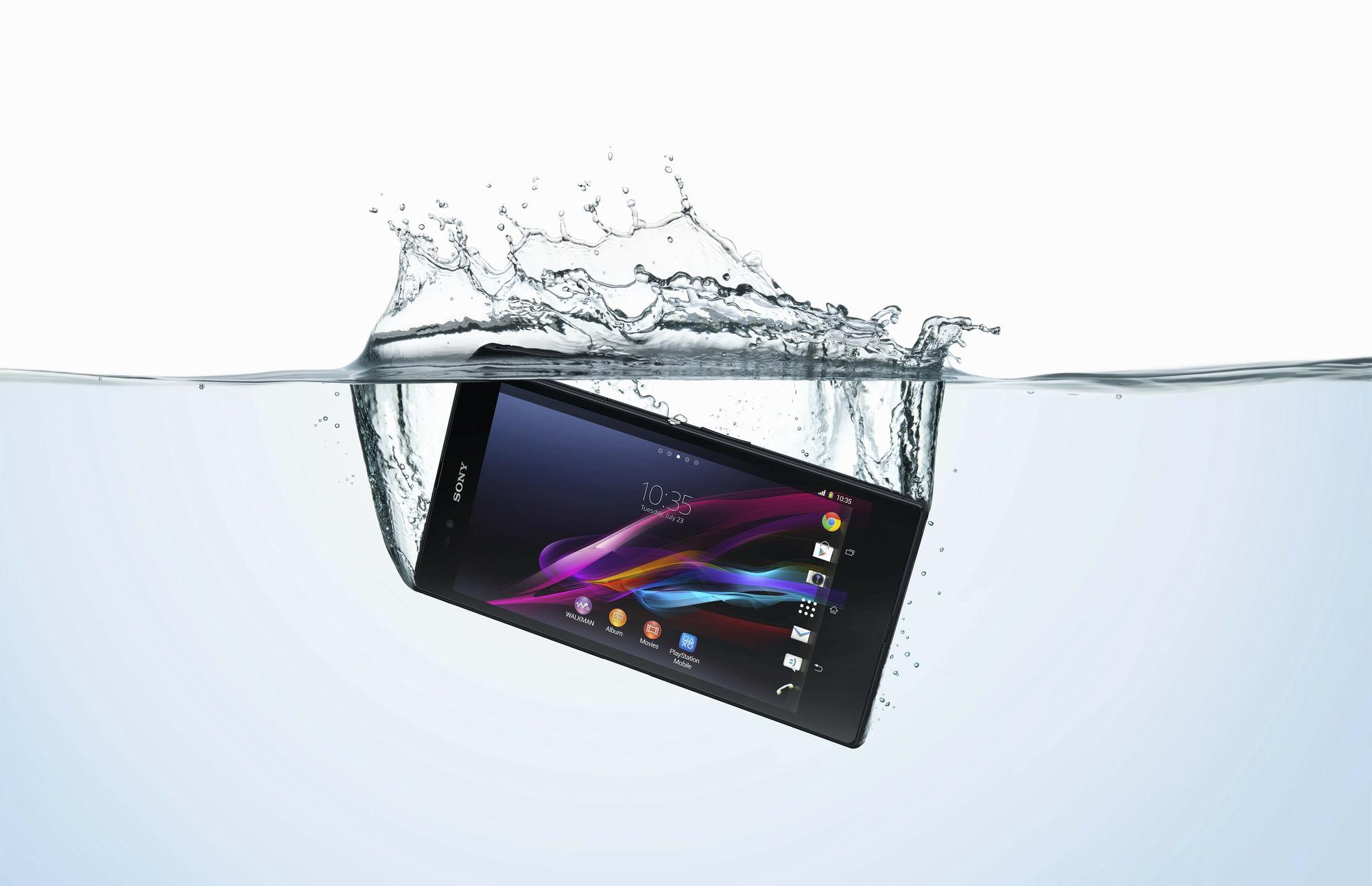 Xperia Zの防水機能