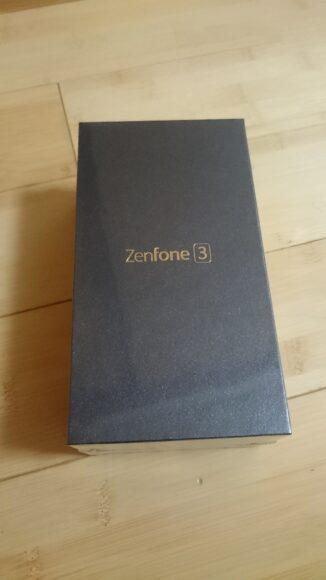 zenfone3外箱