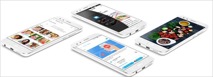 Zenfone4 MaxPro zenUI4.0 ツインアプリ