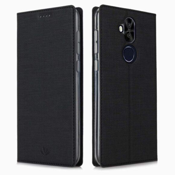 Zenfone 5Z ZS620KLスタンド機能 マグネット内蔵 カードホルダー付き