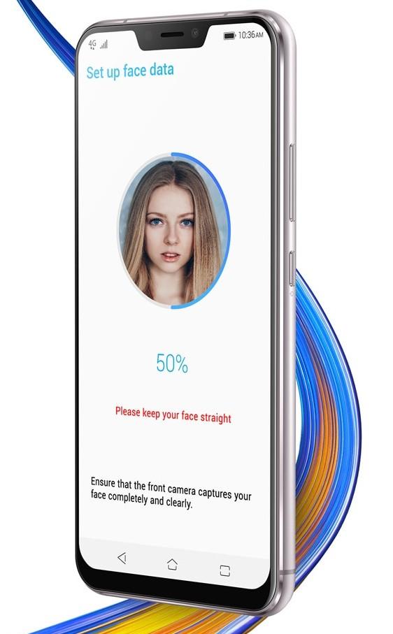 zenfone5z顔認証機能