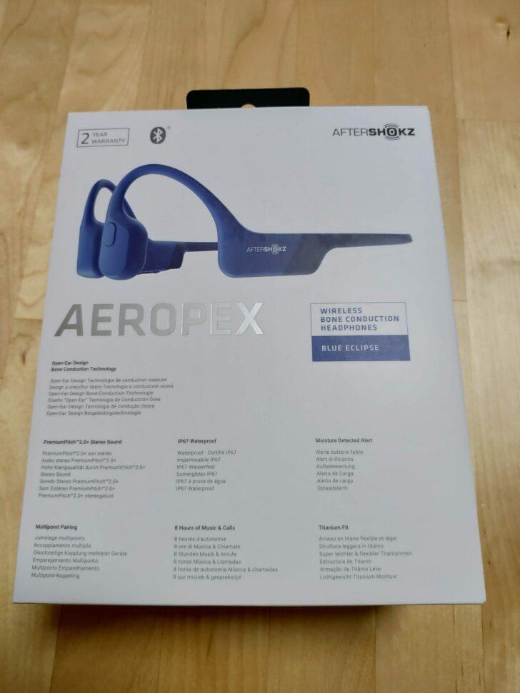 Aeropex外箱裏面