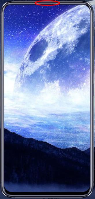 Zenfone6通話スピーカー